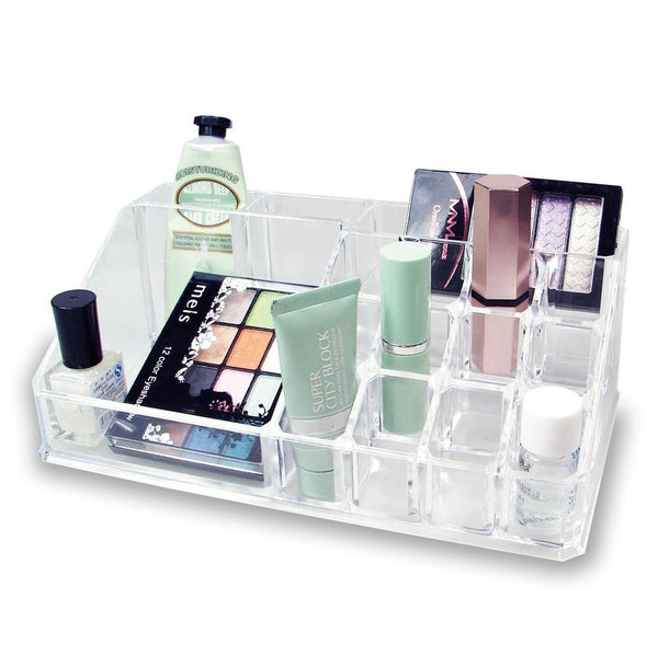 Ikee Design® Acrylic Makeup Organizer Lipstick Holder with 12 Slots