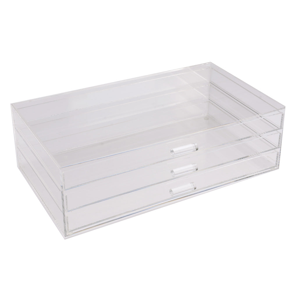 Ikee Design® Acrylic 3-Tiered Jewelry Storage Drawer