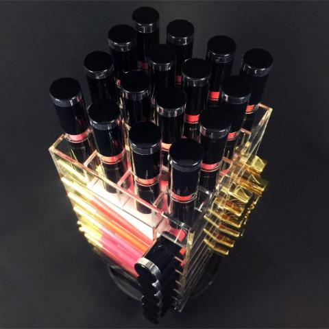 Ikee Design® Acrylic Rotating Lipstick Holder Lipglosses Organizer