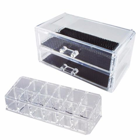 Ikee Design®Acrylic Makeup Cosmetic Display Case Lipstick Organizer Storage Box | Ikee Design