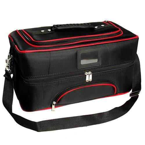 "Ikee Design®  Cosmetics Carrying Case/Bag 17 1/2"" x 8 3/4 x 9 1/2"""