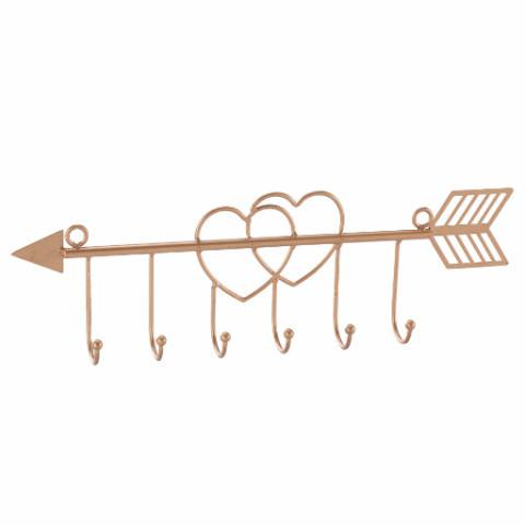 Ikee Design®Metal Mounted Wall Hooks For Necklace Display Or Coat Rack Clothes Hanging