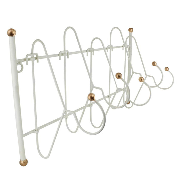 Ikee Design®Metal Wall Mounted Wall Hooks Coat Rack Clothes Hanging