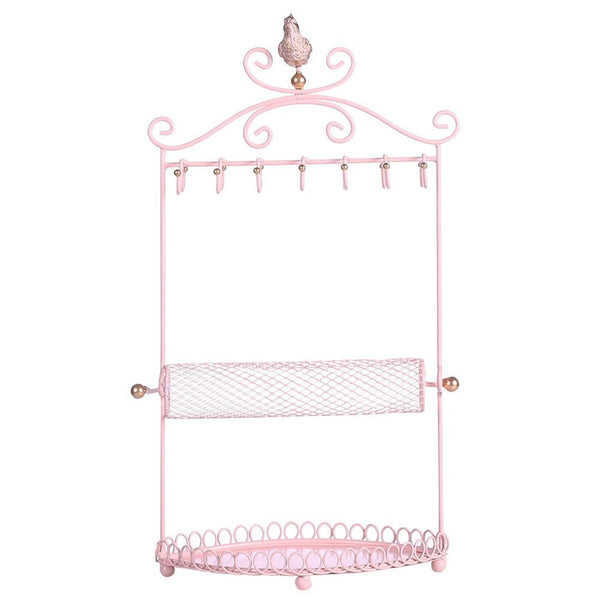 Ikee Design®Metal Jewelry Display Jewelry Stand Hanger Organizer for Necklace, Bracelet, Earrings, Ring | Ikee Design