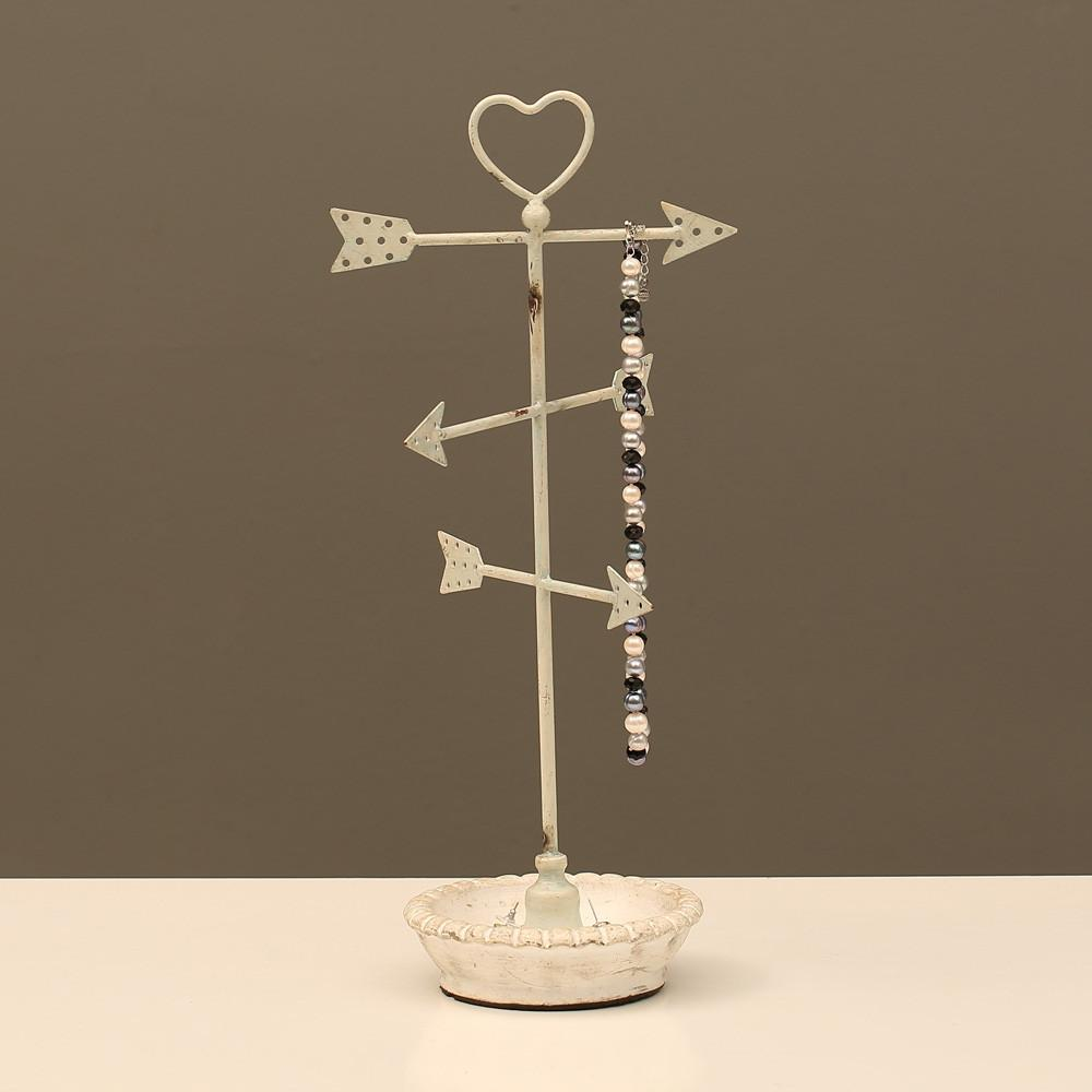 Ikee Design®Metal Arrows Jewelry Display Jewelry Stand Organizer for Necklace, Bracelet, Earrings, Ring | Ikee Design