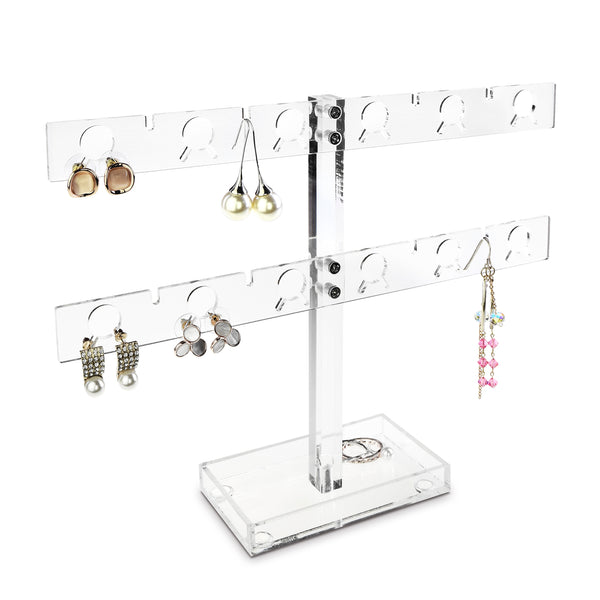 Ikee Design® Premium Acrylic 20 Pairs Earring Display Stand
