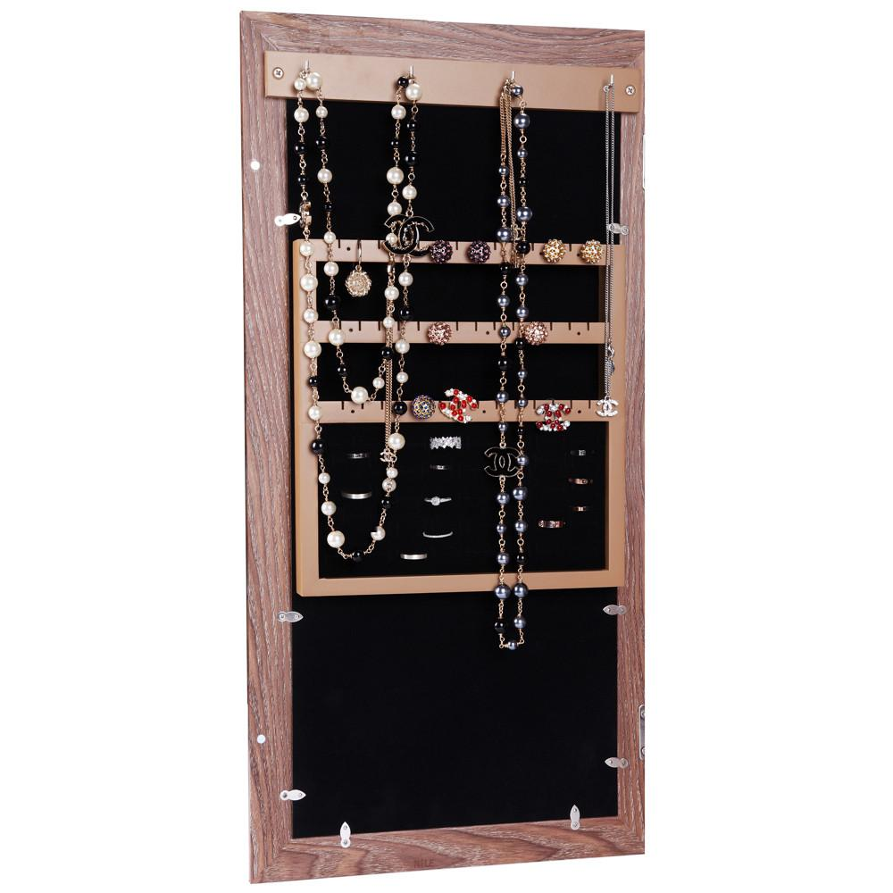 Ikee Design® Wall Mounted Jewelry Storage Cabinet with Photo Frame