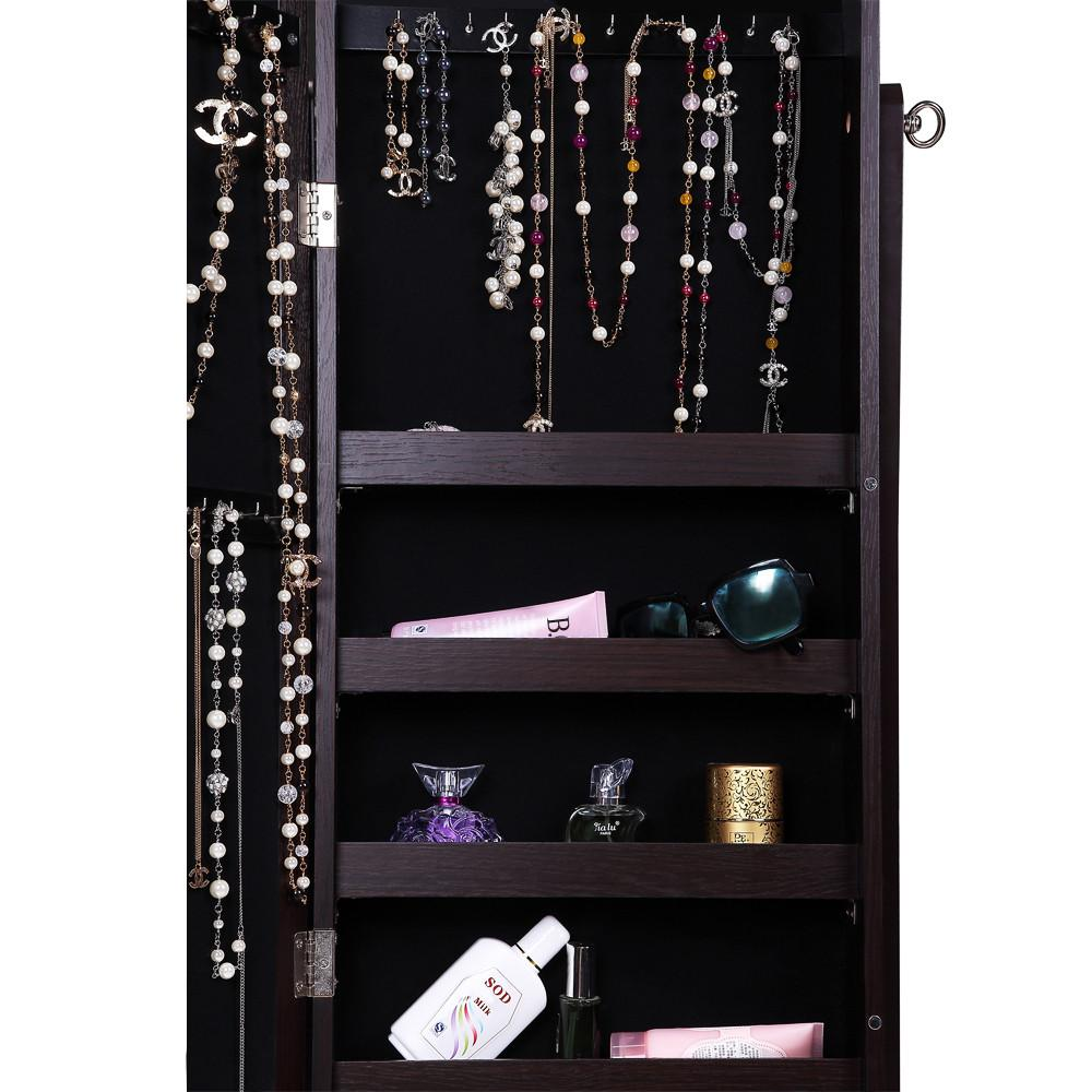 Ikee Design®Jewelry & Accessory Wood Armoire Mirror