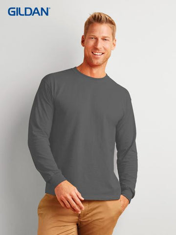 gildan-2400ultra cotton adult  t-shirt ( long sleeve )