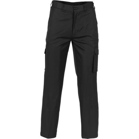 dnc-4504 permanent press cargo pants > 275 gsm polyester viscose