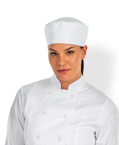JB's wear chef's vented cap