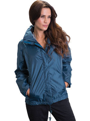 delta 917076 ladies sporty lightweight packable shell jacket