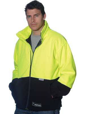Huski asphalt 918135 hi vis polar fleece jackets