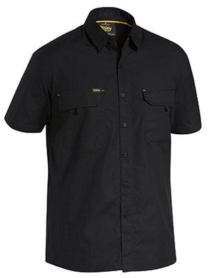 bisley x airflow™ ripstop shirt - short sleeve - bs1414