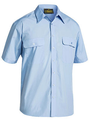 bisley permanent press shirt - short sleeve - bs1526