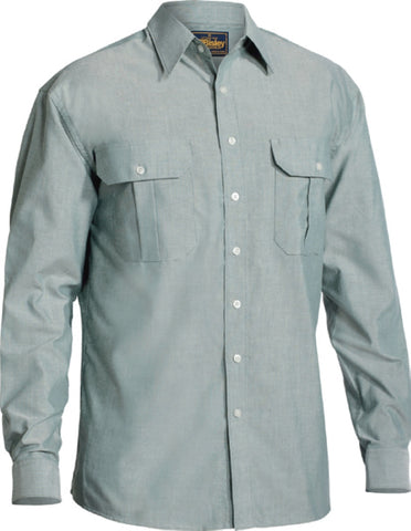 bisley oxford shirt long sleeve - bs6030
