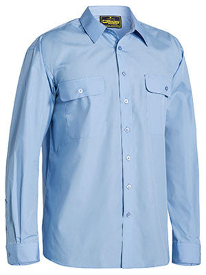 bisley permanent press shirt - long sleeve - bs6526