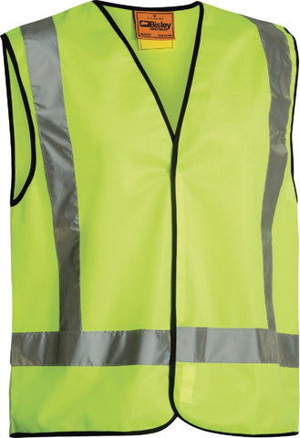 bisley x taped hi vis vest - bt0347