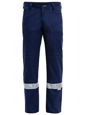 bisley 3m taped ripstop vented work pant - bp6474t