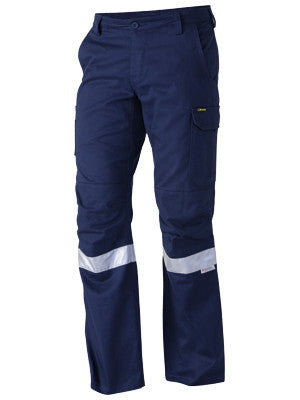 bisley 3m taped industrial engineered mens cargo pant - bpc6021t