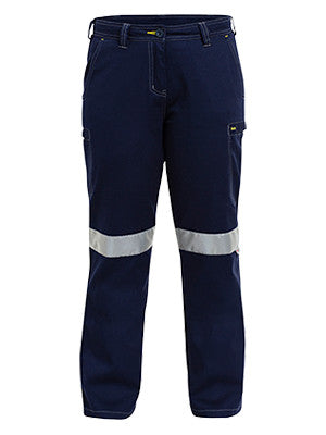 bisley womens 3m taped cool vented light weight pant - bpl6431t