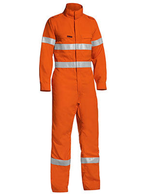 bisley tencate tecasafe® plus taped hi vis lightweight coverall - bc8178t