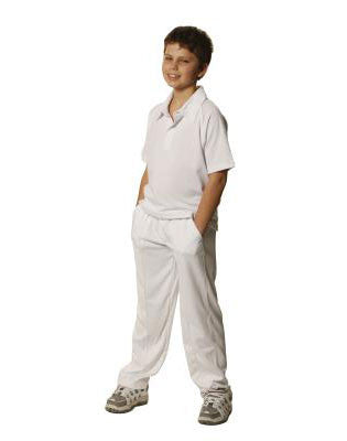 winning spirit-cp29k kids' cooldry polyester cricket pants