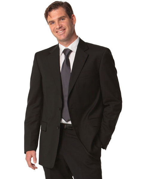 benchmark-m9130 men's poly/viscose stretch jacket