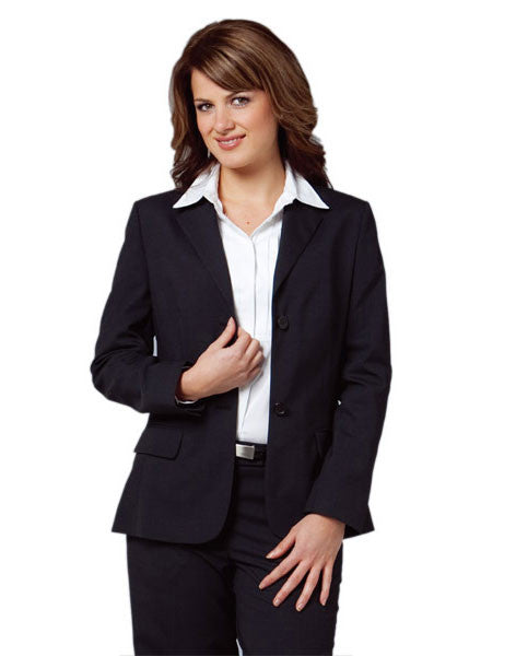 benchmark-m9200 women's stretch wool blend mid length jacket