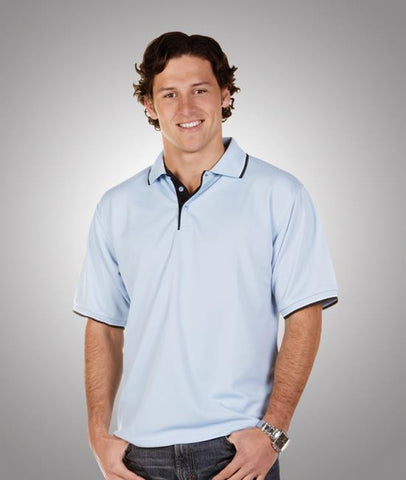 adults cooldry micro mesh polo