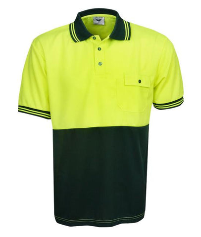 hi vis cooldry polo - short sleeve