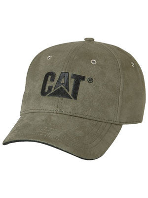 CAT Caterpillar trademark microsuede cap (PW01791.010)