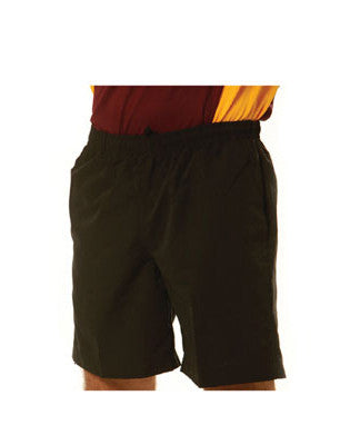 winning spirit-ss29k kids' microfibre sport shorts