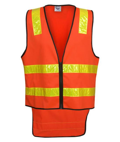 blue whale hi vis safety vic road style day night vest V86