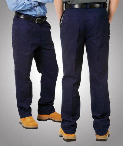 blue whale mens heavy drill trousers - w81