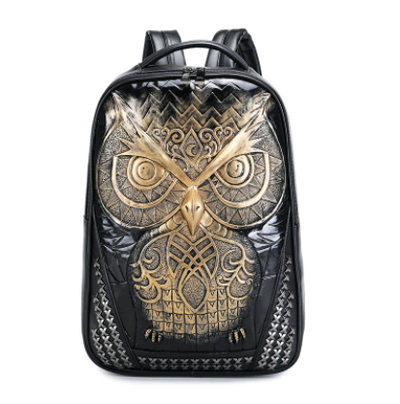 3D Owl Fashion Backpack