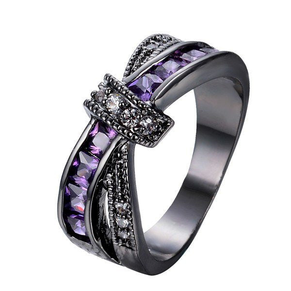 Elegant Crystal Ring