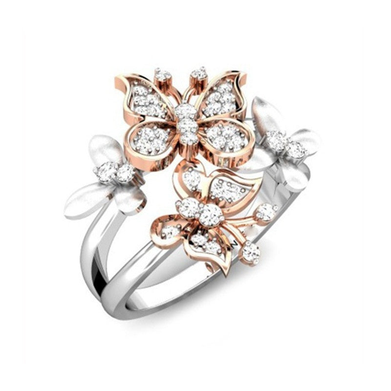 Flock of Butterflies Ring