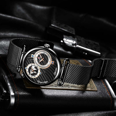 Dual Time Chronograph Business Watch