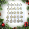 25pcs Christmas Calendar Advent Calendar Gift Tags