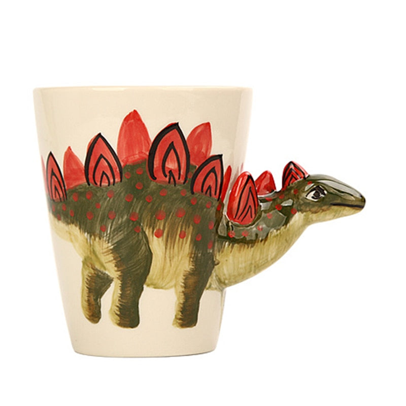 3D Ceramic Dinosaur Coffee Mug
