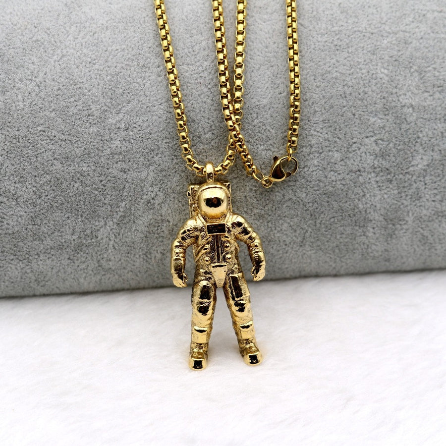 Astronaut Spacewalk Necklace