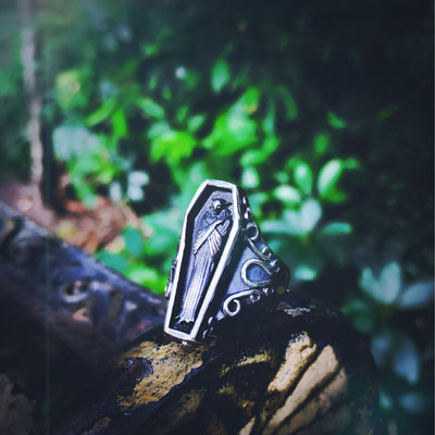 Gothic Undertaker Unique Ring