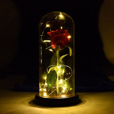 Mesmerizing Rose Flower Lamp