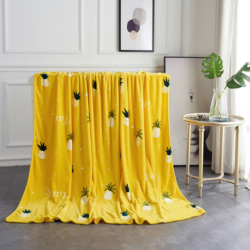 Pineapple Super Soft Blanket