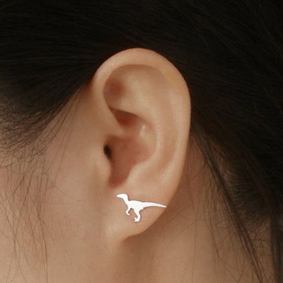 Delicate Dinosaur Earrings