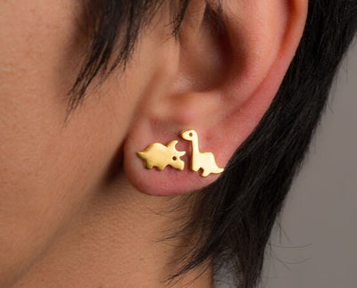 Brontosaurus Dinosaur Earrings