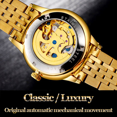 Golden Dragon™ Mechanical  Wristwatch