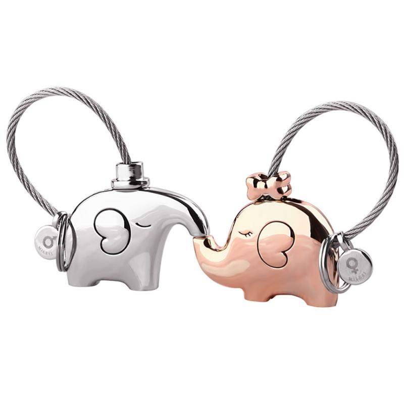 Love & Friendship Elephant Keychains