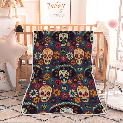 Skull Stylish Blanket